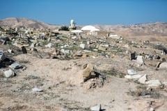 Место Nabi Musa в пустыне Стоковое фото RF