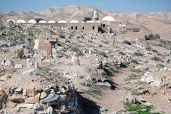Место Nabi Musa в пустыне Стоковые Фотографии RF