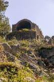 Место Olympos старое, Анталья, Турция стоковые изображения rf