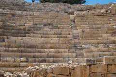 Место Patara Archaelogical - амфитеатр Стоковые Фотографии RF