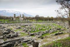 Место Philippi археологическое Стоковое фото RF