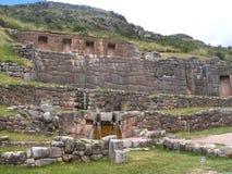 Место Tambomachay археологическое в Cusco, Перу Стоковое Фото