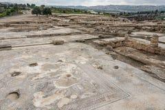 Место Tzipori археологическое Стоковые Фотографии RF