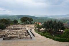 Место Tzipori археологическое Стоковое Изображение RF