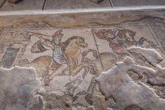 Место Tzipori археологическое Стоковые Фото