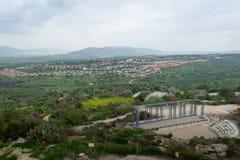 Место Tzipori археологическое Стоковая Фотография