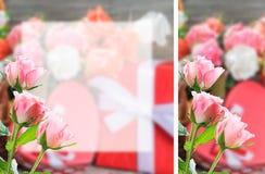 Место witn открытки цветка для вашего текста Стоковые Изображения RF