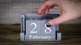 28 месяцев в феврале календаря