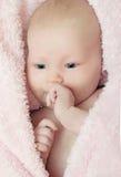 месяц старое одно младенца стоковые фотографии rf
