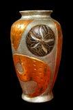 металлическая ваза Стоковые Фото