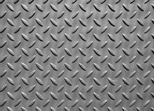 Металлическая пластина стального листа при выбитый ромбовидный узор используемый для справляться и индустриального строительства стоковые фотографии rf