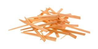 Металлическая пластинка извлекая toothpicks стоковая фотография rf