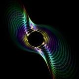 металлическая спиральн закрутка Стоковое Изображение