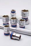 металлические инструменты комплекта Стоковое Изображение RF
