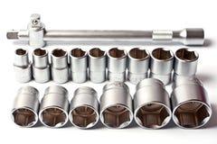 металлические инструменты Стоковое Изображение