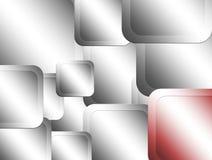 металлические квадраты Стоковое фото RF