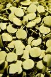 Металлические отверстии Стоковое фото RF