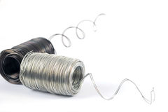 металлические проводы Стоковые Изображения RF