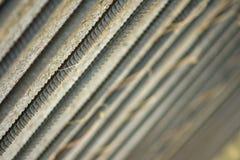Металлические стержни предпосылки или текстуры стоковая фотография