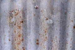 Металлический лист ржавчины Стоковая Фотография
