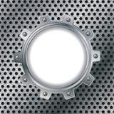 металлопластинчатое поставленное точки cogwheel бесплатная иллюстрация