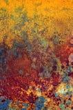 металлопластинчатое ржавое Стоковые Фото