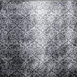 Металлопластинчато с орнаментом Стоковые Фото