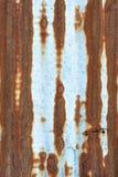 металлопластинчатый ржавый цинк Стоковые Фото