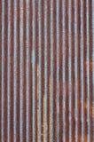 металлопластинчатый ржавый цинк Стоковые Изображения RF