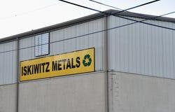 Металлы Iskiwitz, Мемфис, TN стоковая фотография