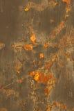 металл делает по образцу ржавчину Стоковое Фото
