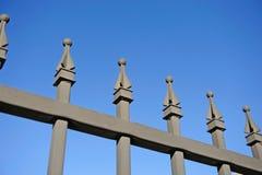 металл загородки стоковое изображение rf