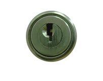 металл замка keyhole круглый Стоковые Фото