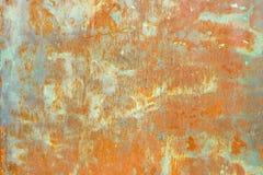 металл заржавел текстура Предпосылка Grunge старая стальная Стоковое Изображение