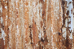 металл заржавел Стоковое фото RF