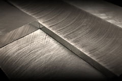 металл затмленный предпосылкой Стоковые Фотографии RF