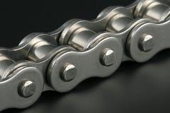 металл звена цепи Стоковые Изображения RF