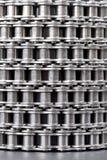 металл звена цепи Стоковое Изображение RF
