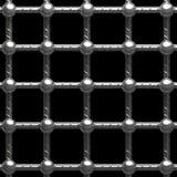 металл клетки иллюстрация вектора