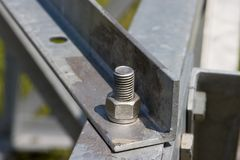 металл конструкции Стоковая Фотография RF