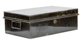 металл коробки старый Стоковая Фотография