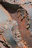 металл корозии Стоковое Изображение