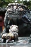 металл львов Стоковые Изображения