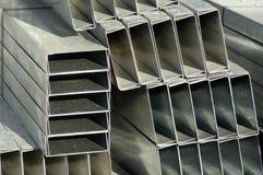 металл обивает стену Стоковые Изображения RF