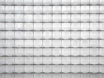 металл обшивает панелями стену ую черепицей сбросом стоковое изображение rf