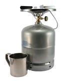 металл опарника газа бутылки Стоковое Изображение RF
