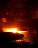 металл отливки стоковое изображение rf