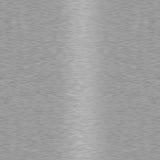 металл почищенный щеткой предпосылкой безшовный Стоковое Фото