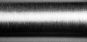 металл почищенный щеткой предпосылкой Стоковое Изображение RF