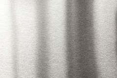 металл почищенный щеткой предпосылкой Стоковые Изображения